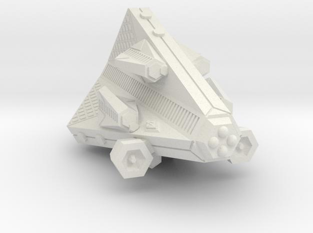 3125 Scale Tholian Gunboat (PF) Tender w/ Gunboats in White Natural Versatile Plastic