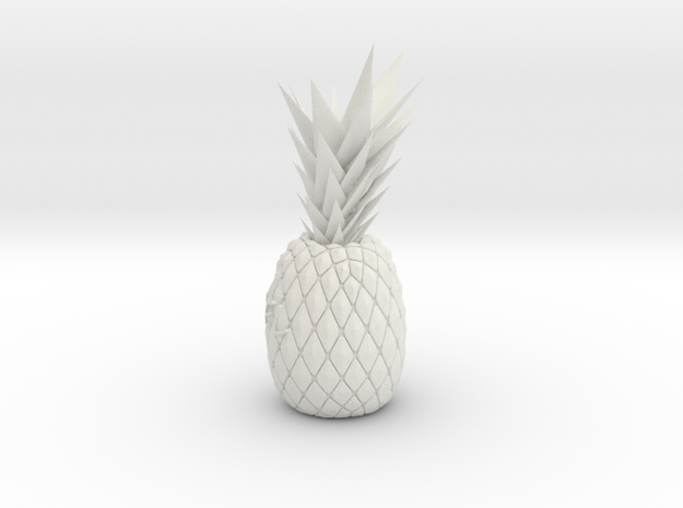 Customize pineapple in White Strong & Flexible