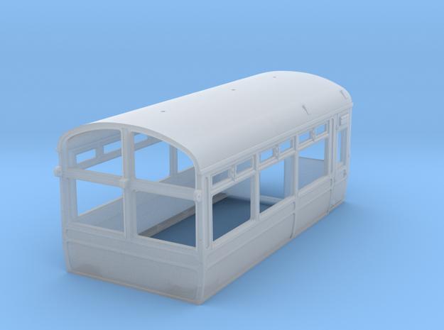 LNWR Body C, OO in Smooth Fine Detail Plastic