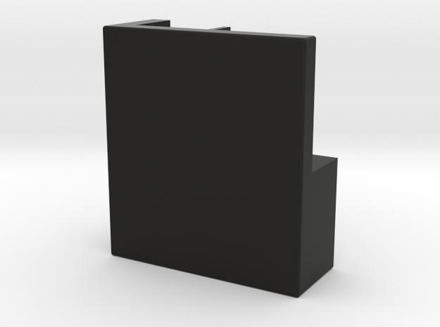 MG3 Feedblock in Black Natural Versatile Plastic