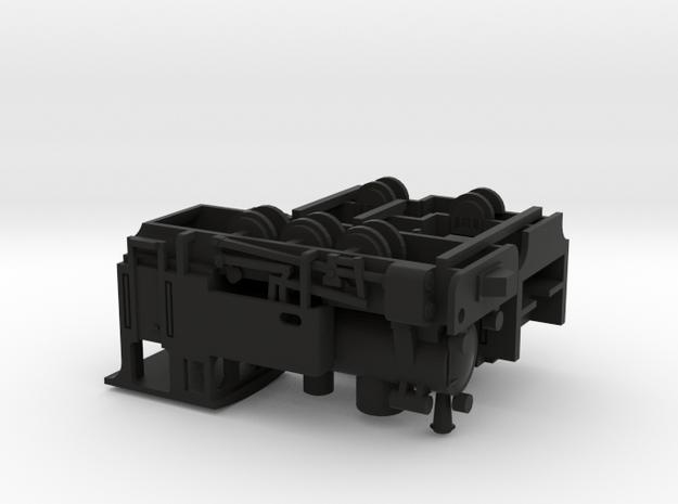 1/144 narrow gauge train HF 110 C in Black Natural Versatile Plastic