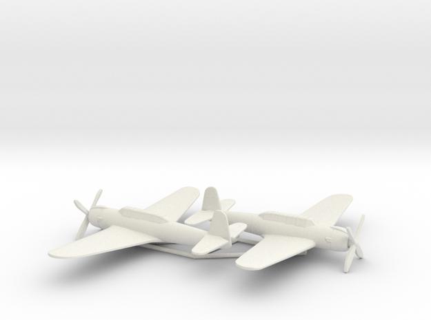 Nakajima B6N2 1:200 x2 (w/o landing gears) in White Natural Versatile Plastic