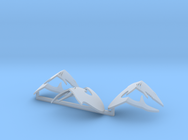 Shark Icons for Gothic Jetbikes (x3) in Frosted Ultra Detail