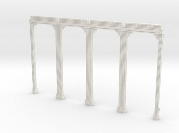 HOGG-Ref01 - Large modular train station in White Natural Versatile Plastic