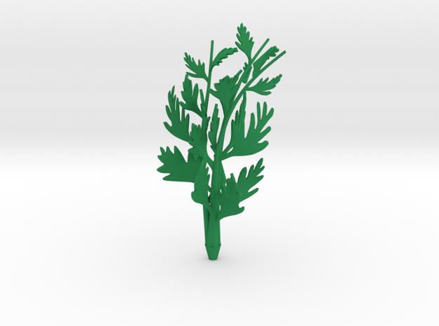 Big carrot top in Green Processed Versatile Plastic