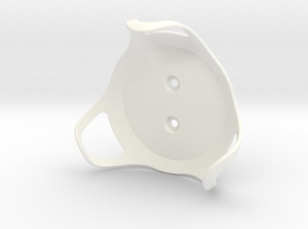 Google Home Mini - Wall Mount in White Processed Versatile Plastic