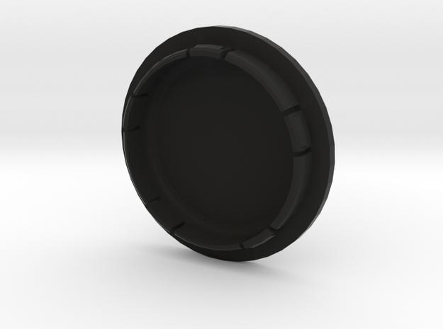 VW FELGENDECKEL_2 bis 12 Zeichen beschreibbar in Black Natural Versatile Plastic