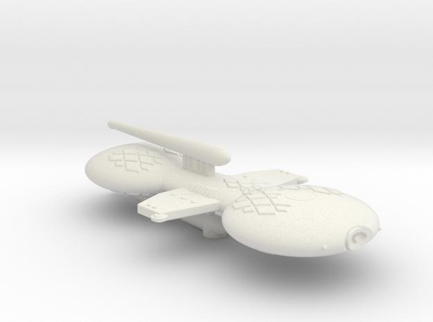 3125 Scale Gorn Allosaurus Buck+ Battlecruiser (BC in White Natural Versatile Plastic