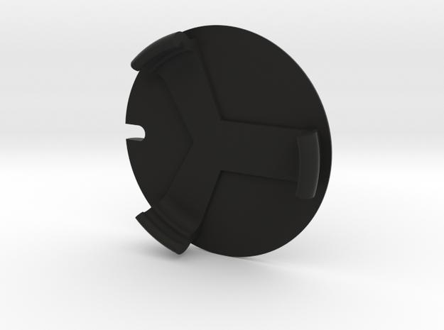Rear Cover for E9X Gauge Pod in Black Natural Versatile Plastic