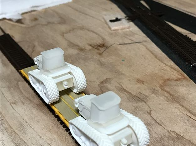 Agco Challenger Tractor - Nscale in Smooth Fine Detail Plastic