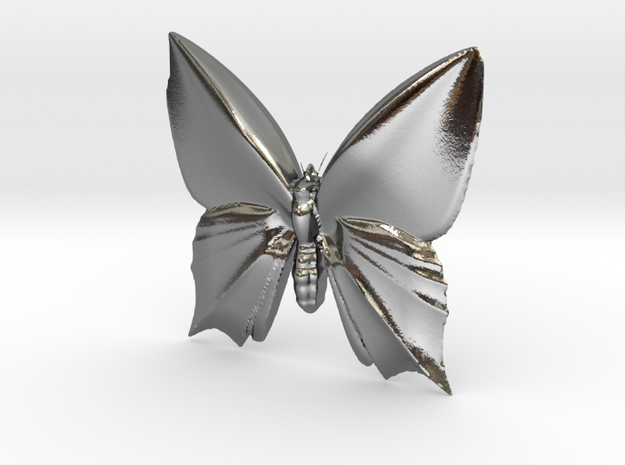 Butterfly-1 in Polished Silver