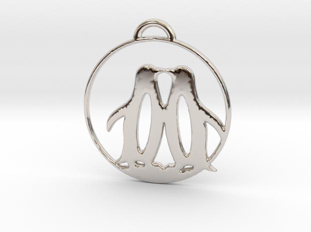 Penguins Kissing Necklace