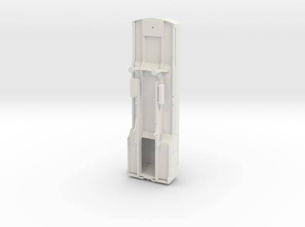 DAF YF102 tankoplegger in White Natural Versatile Plastic