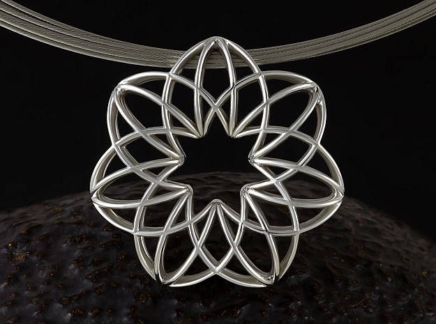 Magic-7h (from $16) in Fine Detail Polished Silver
