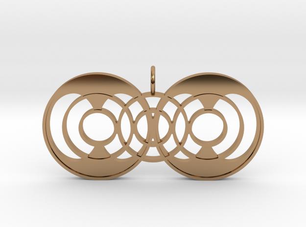 Quantum Continuator in Polished Brass
