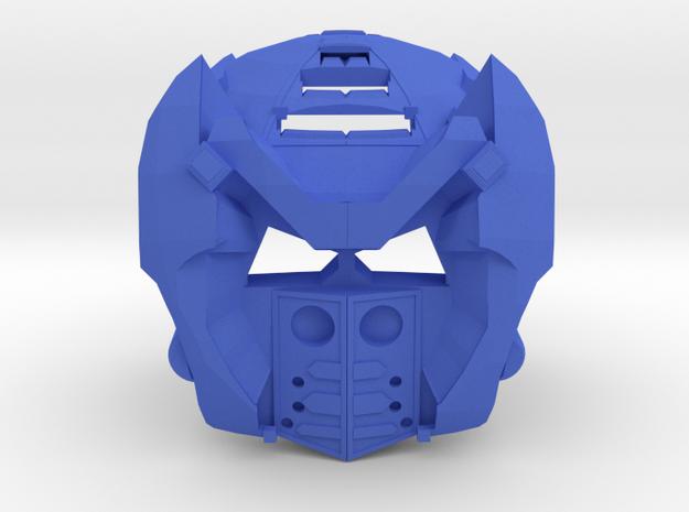 Kanohi Silos in Blue Processed Versatile Plastic