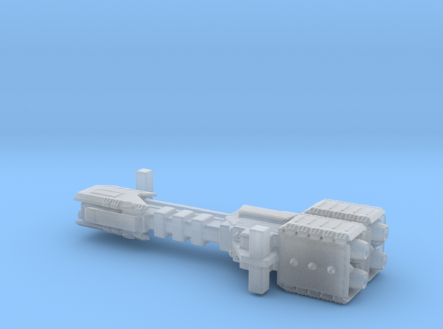 Earth Alliance Sagittarius Missile Cruiser 36mm in Smooth Fine Detail Plastic