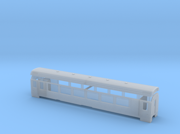 RhB A 1281-1283 in Smooth Fine Detail Plastic: 1:150