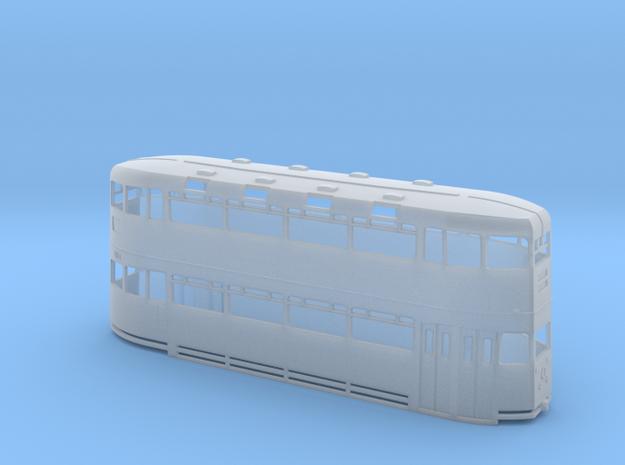 Glasgow Cunarder Tram Model - N Scale in Smooth Fine Detail Plastic