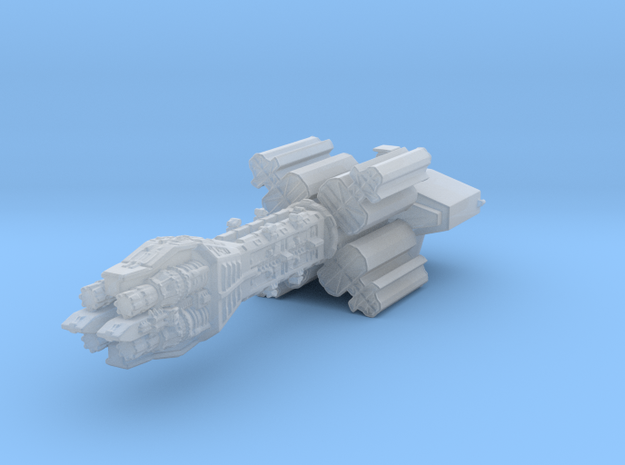 Earthforce Tantalus Assault Carrier 55mm in Smooth Fine Detail Plastic