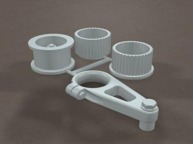 1/12 Scale Generic Blower Pulleys 3d printed