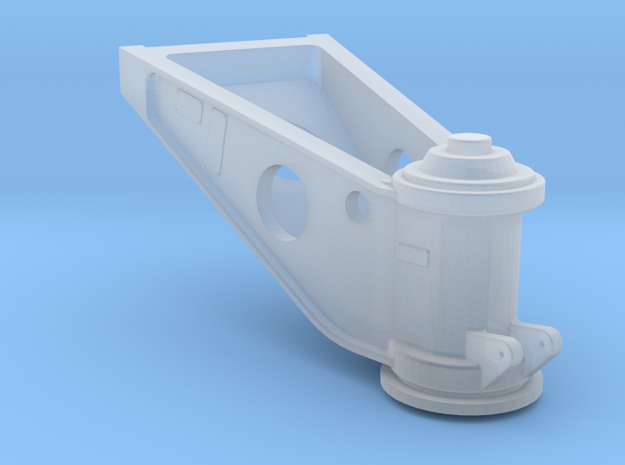 Westland Wessex Tail Wheel Casting 1:32 in Smooth Fine Detail Plastic