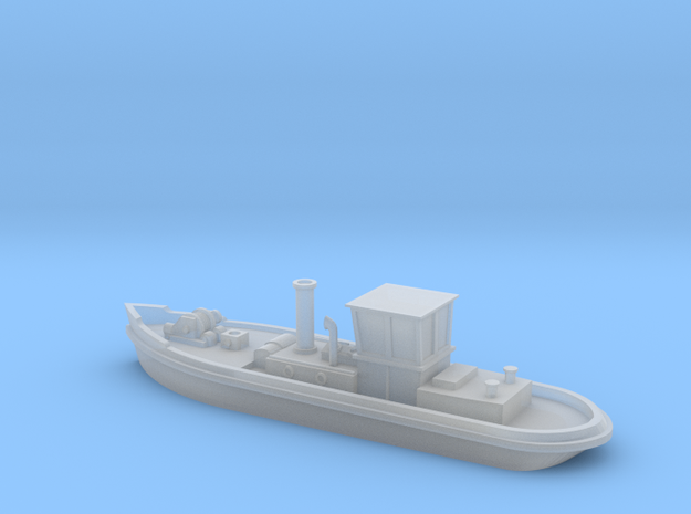 1:350 Canal steam tug in Frosted Ultra Detail