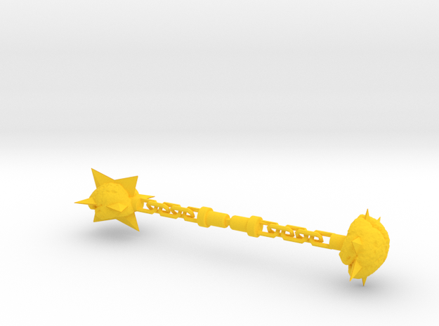 Membros Chained Brain Weapon in Yellow Strong & Flexible Polished