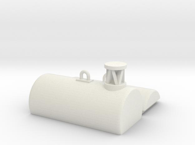 Fasstonne / Buoy 1:50/40/32/25/20 in White Natural Versatile Plastic: 1:50