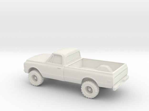 1/55 1969 GMC Sierra in White Strong & Flexible