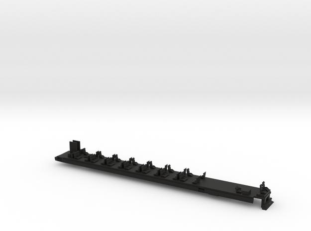 Inneneinrichtung Steuerwagen Transalpin  Scale N in Black Natural Versatile Plastic