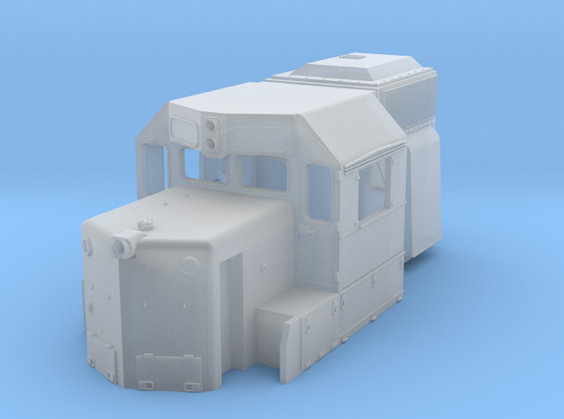 DDm45 Cab part S scale in Smooth Fine Detail Plastic