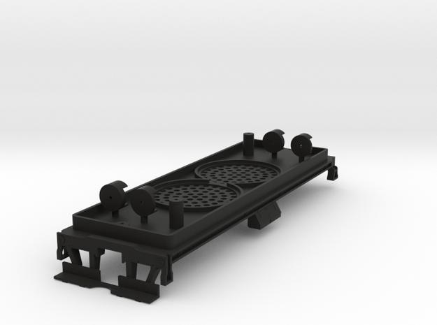 ATSF 12K Tender Chassis BLI dual 28 in Black Strong & Flexible