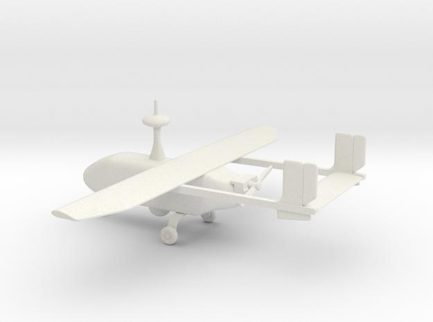 Pegasus II - UAV (bigger version) in White Natural Versatile Plastic