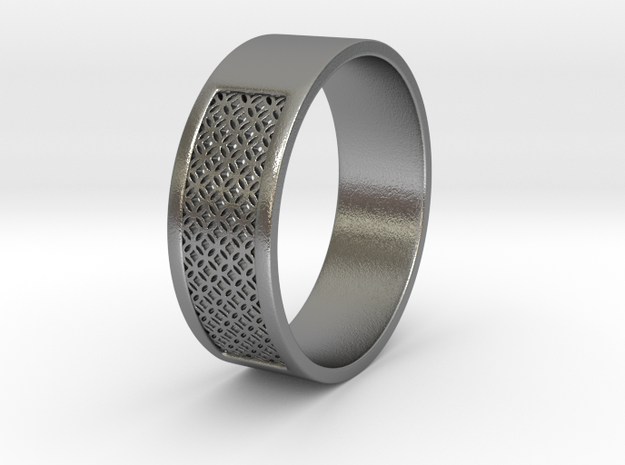 Clashing Constants Ring in Natural Silver