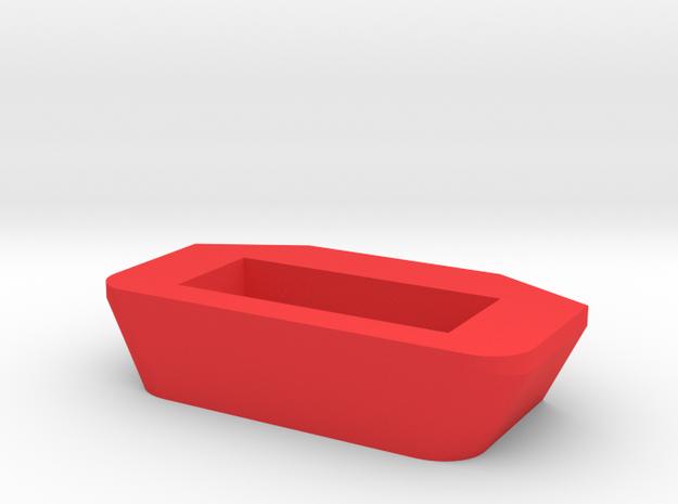 IMPRIMO - CF Version (Printable Rear Lock) in Red Processed Versatile Plastic