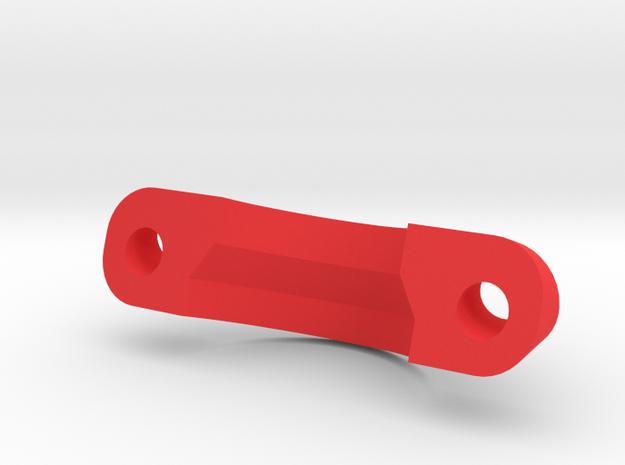 IMPRIMO - CF Version (Printable HD Camera Bracer) in Red Processed Versatile Plastic