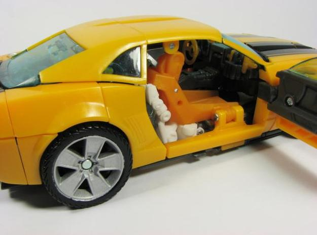 HA Bumblebee hands 3d printed alt mode.