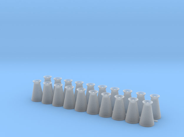 17 Gallon (65 L) Conical Milk Churn Variant 3 in Smooth Fine Detail Plastic: 1:48 - O