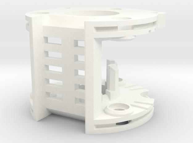 DV6 - Part (3/7) ChamberV2 in White Processed Versatile Plastic