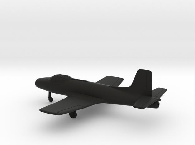 Fokker S.14 Machtrainer in Black Natural Versatile Plastic: 1:200