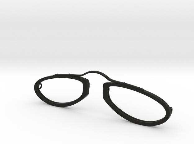 9a-ring2 in Black Natural Versatile Plastic