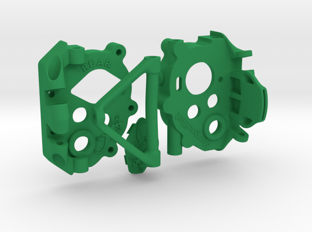 Margouillat Trany | Complete kit in Green Processed Versatile Plastic