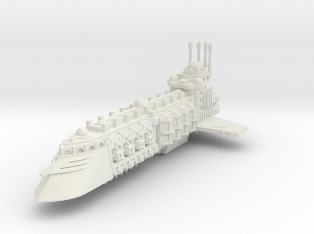 Crucero Comerciante Independiente C  in White Natural Versatile Plastic
