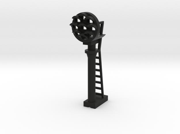PRR Signal N 160:1 Scale in Black Natural Versatile Plastic