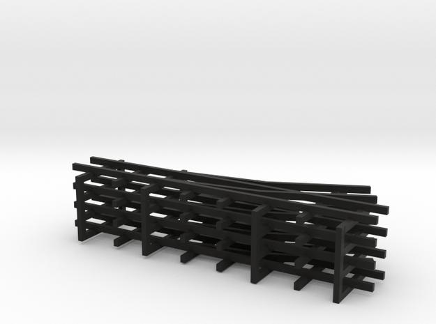 1/144 narrow gauge track set in Black Strong & Flexible