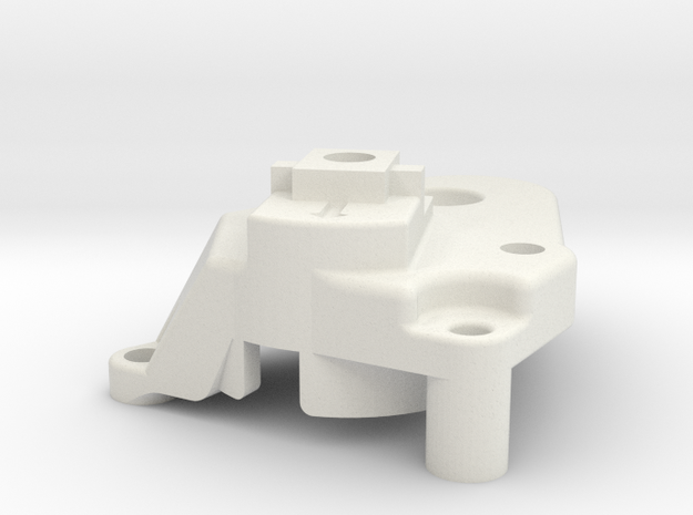 Nimble mount base for Smart Effector in White Natural Versatile Plastic