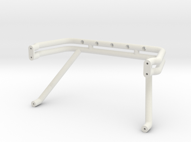 Bigfoot 3 roll bar - 84 Ford body in White Natural Versatile Plastic