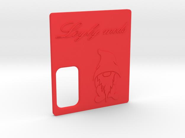 Löyly Parallel Squonker - door in Red Processed Versatile Plastic