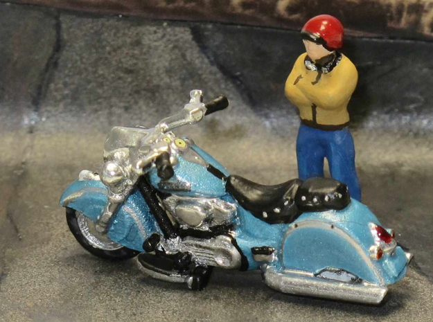 Indian Chief Classic  1:87 HO in Smooth Fine Detail Plastic